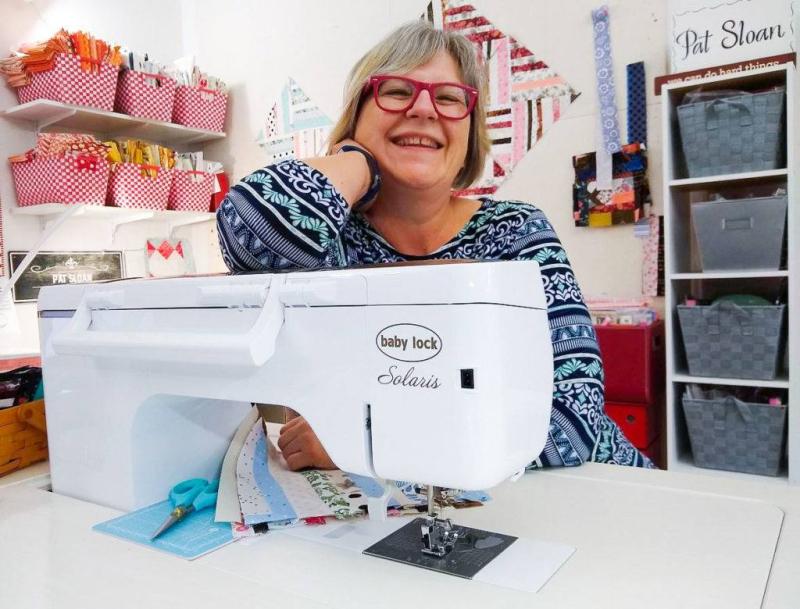 Pat sloan sewing machine