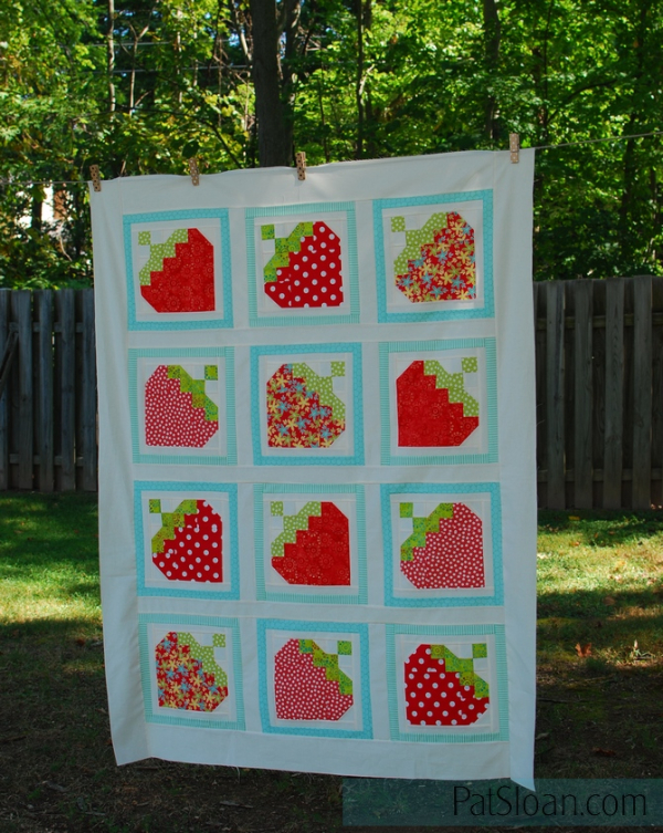 Pat Sloan Strawberry Love top 1