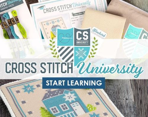 Cross stitch university