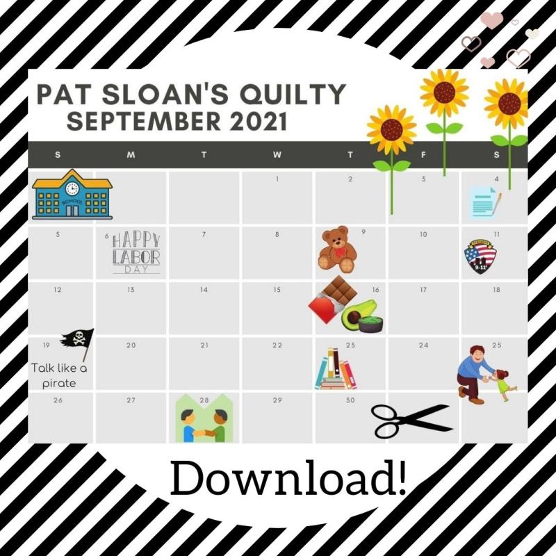 Pat Sloan september 2021