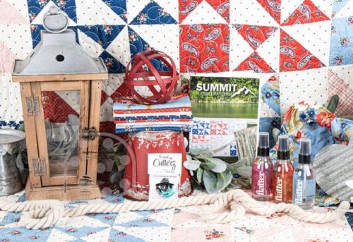 Sew sampler box