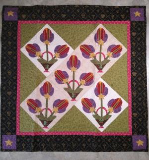 2004 tulips magazine quilt front IMG_20210620_121621805