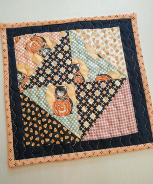 2021 kitty corn fabric mat halloween