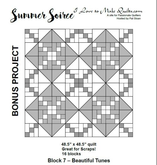 Pat Sloan Summer Soiree Block 7 bonus